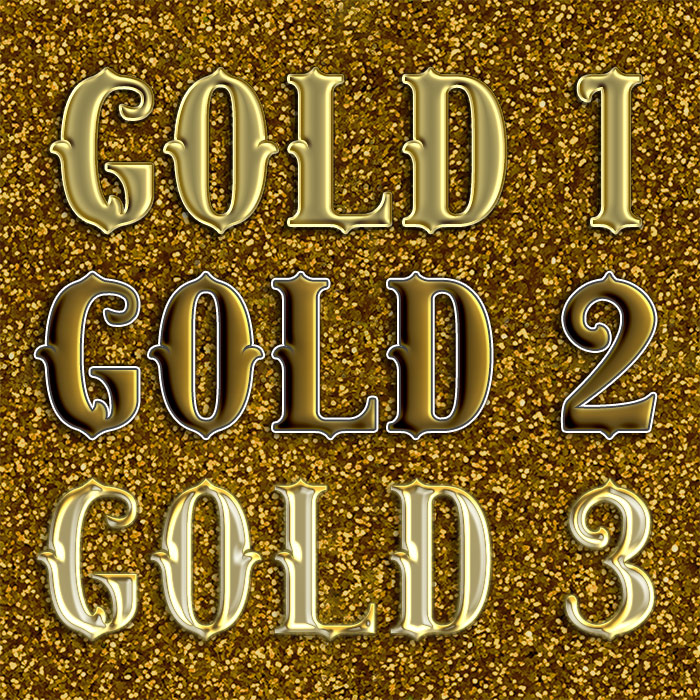 Gold Layer Styles 1-3