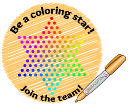 Be a Coloring Star! Join the OrnaMENTALs Coloring Team