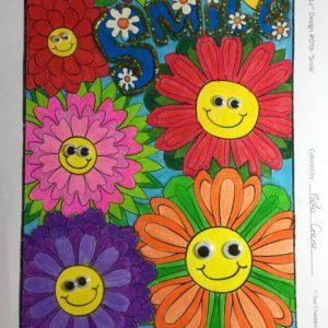 Smile colored by Mela Crane