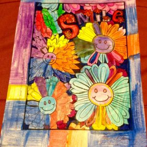 """Smile"" colored by Allison"