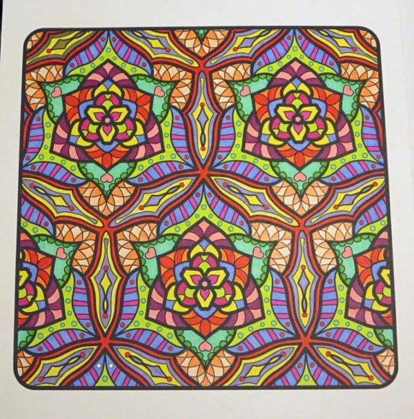 """Mandala Matrix"" colored by David Wilmoth"