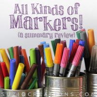 Marker Types for Adult Coloring Books