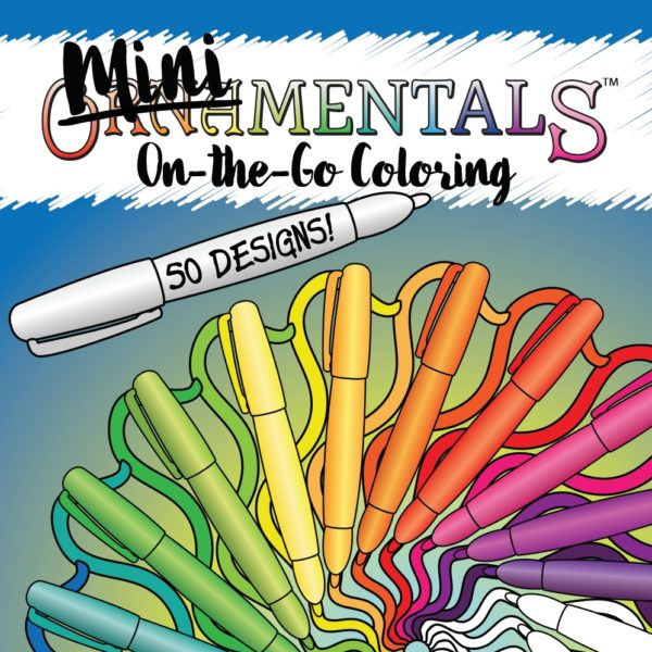 MiniMENTALs On-the-Go Coloring Book by Sue Chastain