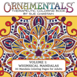 Front Cover of OrnaMENTALs™ Volume 1: Whimsical Mandalas