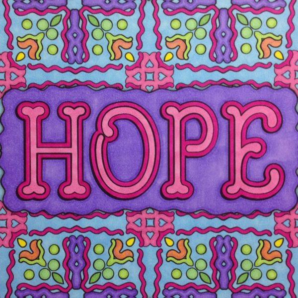 """Hope"" colored by Stephanie Walker"