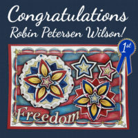 Freedom colored by Robin Petersen Wilson