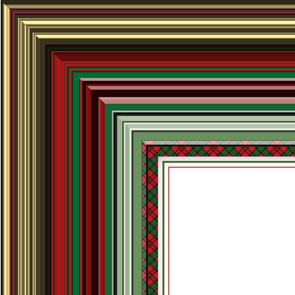 Christmas Frames Kit Styles 1-5