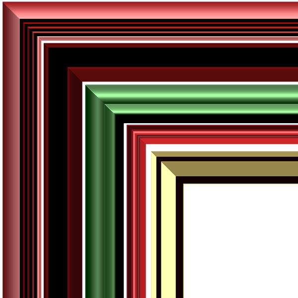 Christmas Frames Kit Styles 6-10