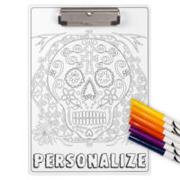 Color Your Own Personalized Clipboard