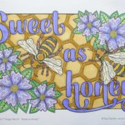Sweet as Honey Colored by David Wilmoth