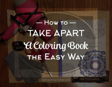 How to Take Apart a Coloring Book the Easy Way