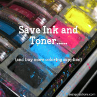 Ink Saving Tips for Printing Coloring Pages